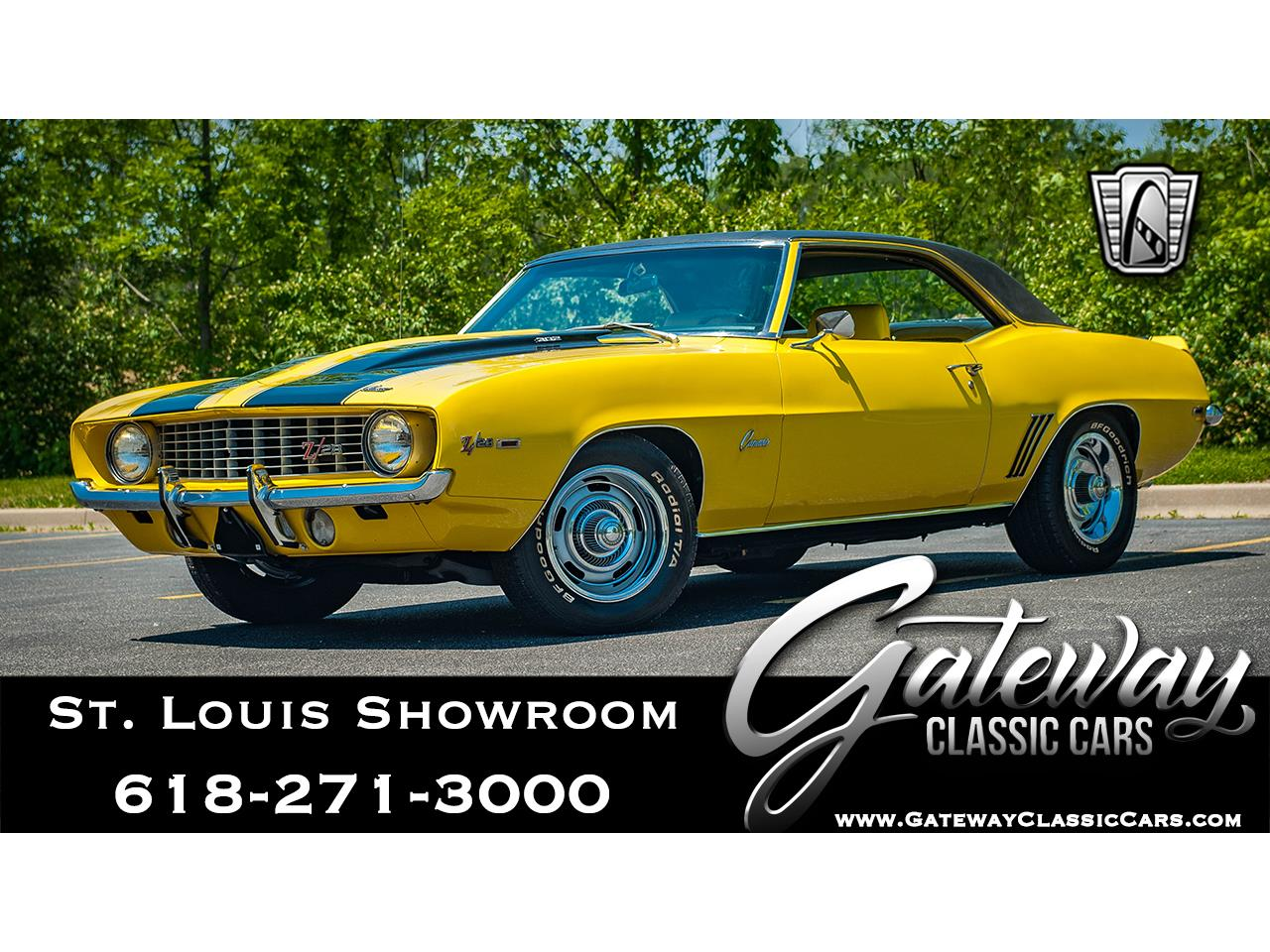 Large Picture of 1969 Chevrolet Camaro located in Illinois - $91,000.00 - QB9B