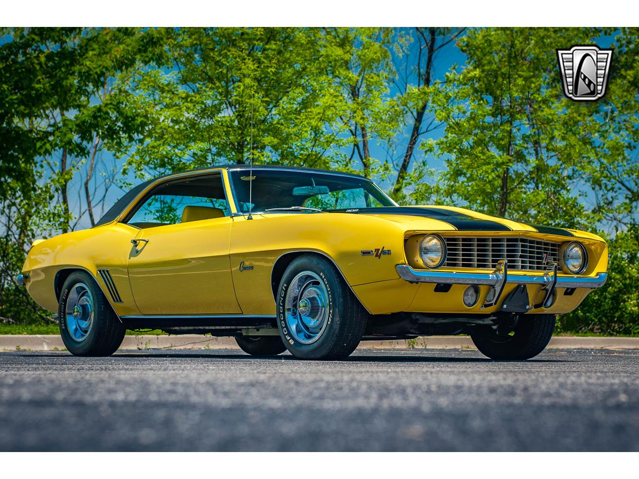 Large Picture of '69 Chevrolet Camaro Offered by Gateway Classic Cars - St. Louis - QB9B