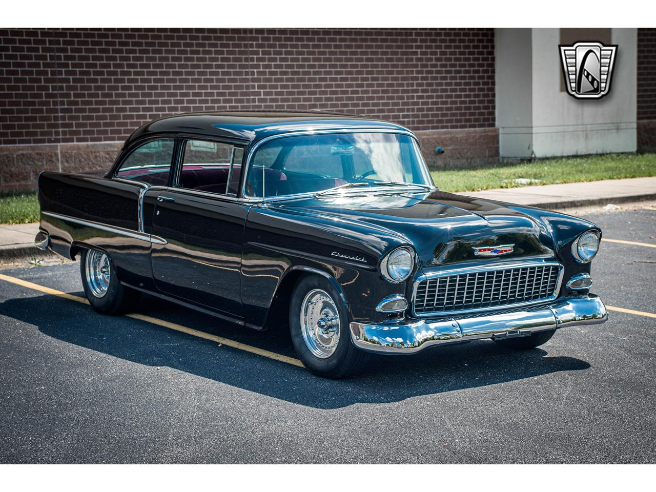 Large Picture of '55 Chevrolet Bel Air located in Illinois Offered by Gateway Classic Cars - St. Louis - QB9F