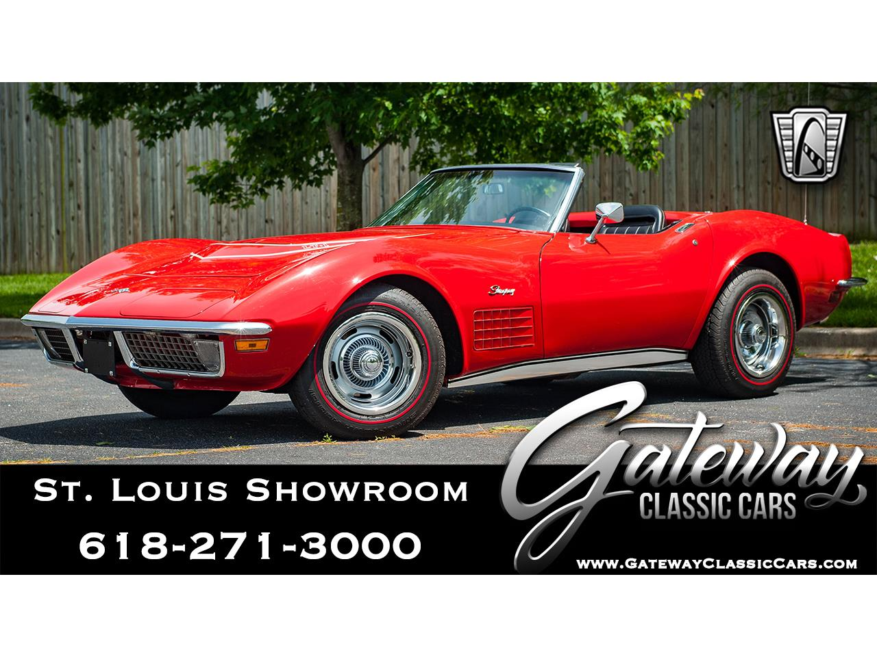 Large Picture of 1971 Chevrolet Corvette located in O'Fallon Illinois Offered by Gateway Classic Cars - St. Louis - QB9M