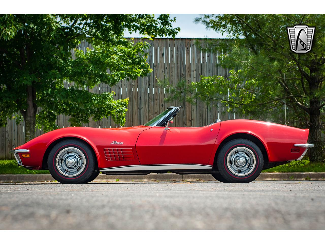 Large Picture of Classic '71 Corvette located in O'Fallon Illinois - $40,500.00 Offered by Gateway Classic Cars - St. Louis - QB9M