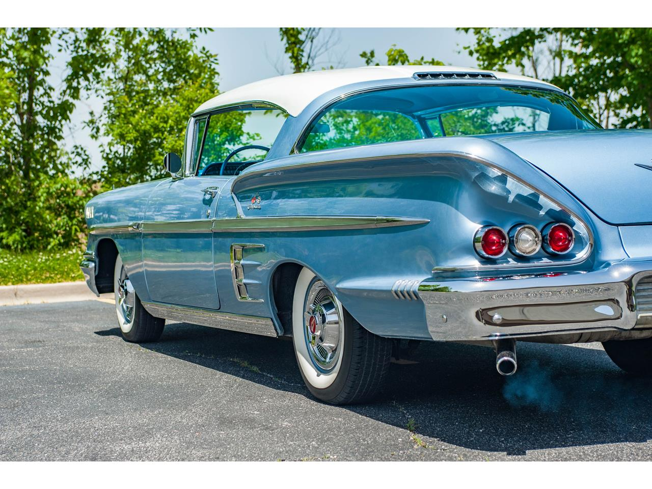 Large Picture of Classic '58 Chevrolet Impala located in O'Fallon Illinois - $62,000.00 Offered by Gateway Classic Cars - St. Louis - QB9Q