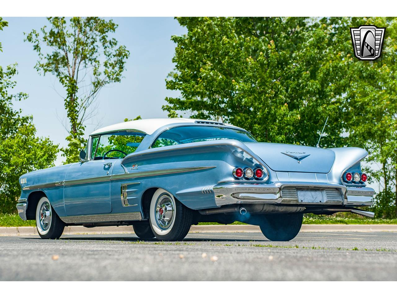 Large Picture of Classic 1958 Impala Offered by Gateway Classic Cars - St. Louis - QB9Q