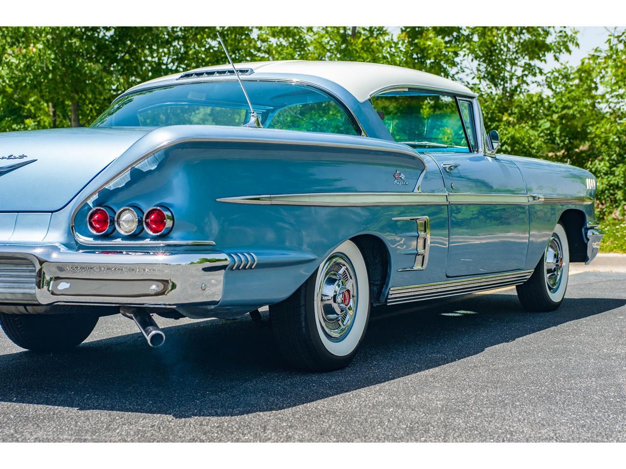 Large Picture of Classic '58 Chevrolet Impala located in O'Fallon Illinois - QB9Q