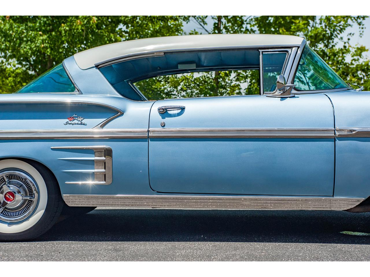 Large Picture of Classic '58 Impala located in O'Fallon Illinois Offered by Gateway Classic Cars - St. Louis - QB9Q