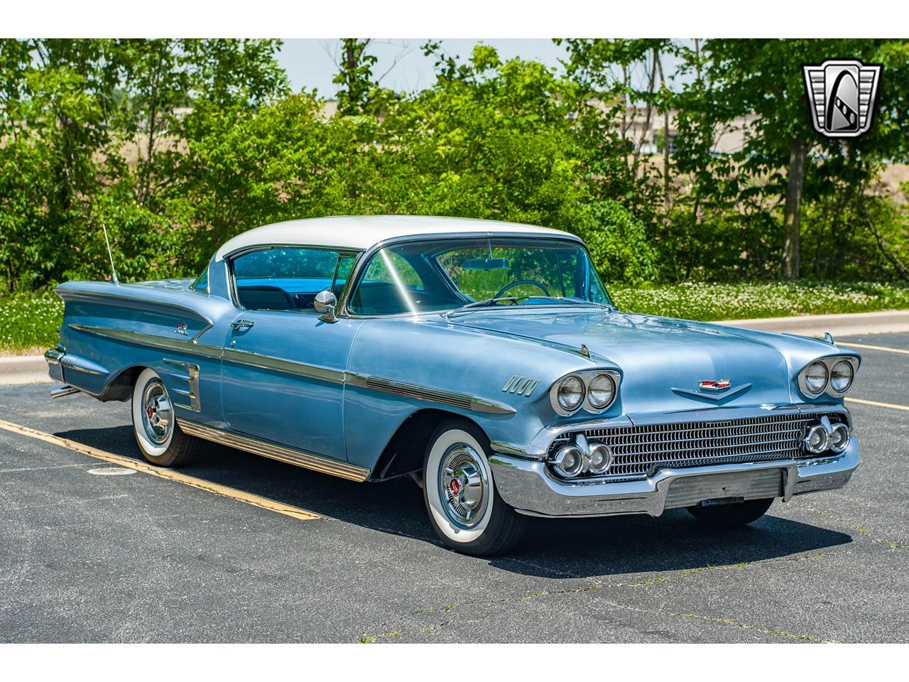Large Picture of '58 Chevrolet Impala located in O'Fallon Illinois - $62,000.00 - QB9Q