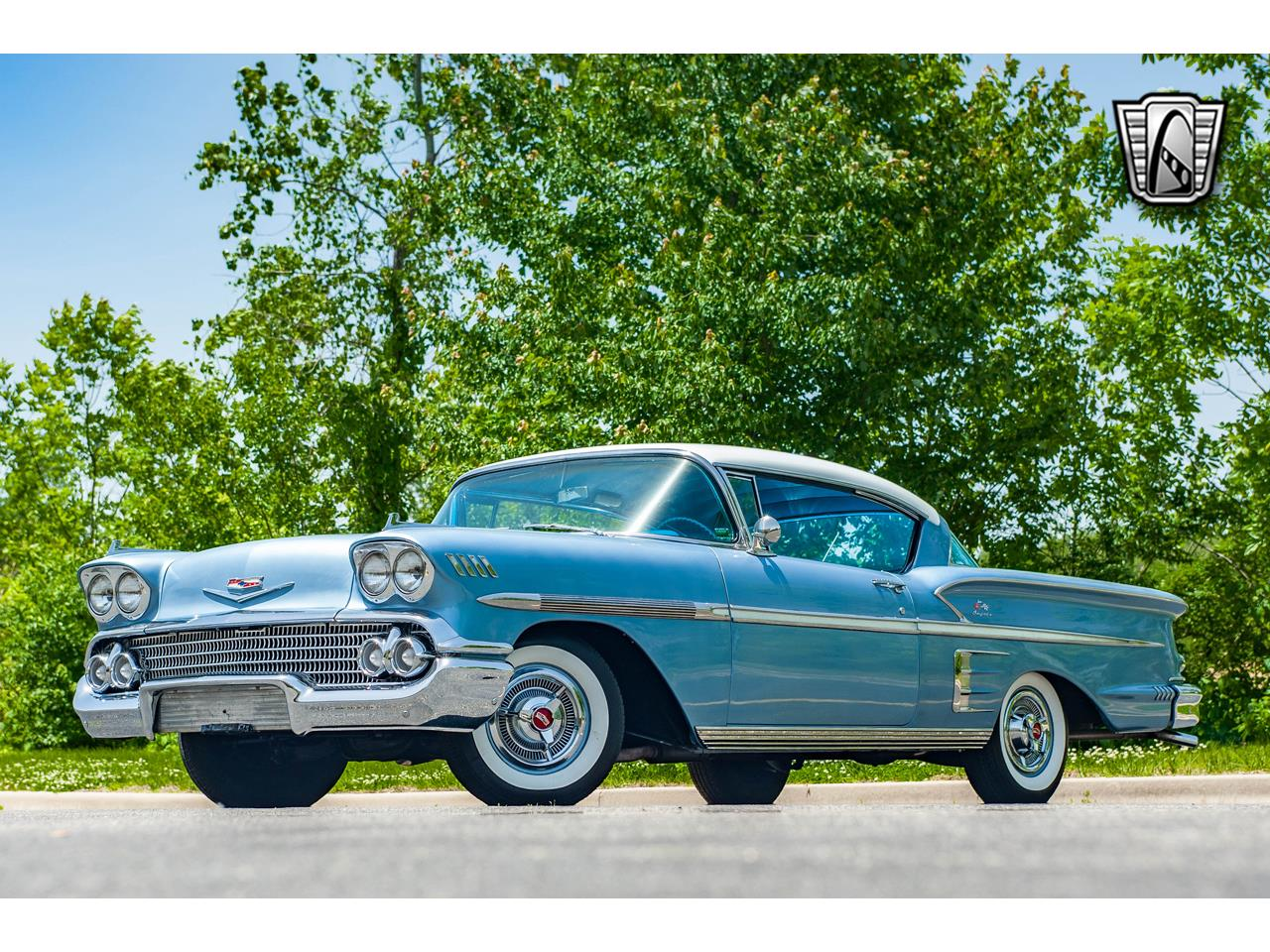 Large Picture of 1958 Chevrolet Impala located in O'Fallon Illinois - $62,000.00 Offered by Gateway Classic Cars - St. Louis - QB9Q