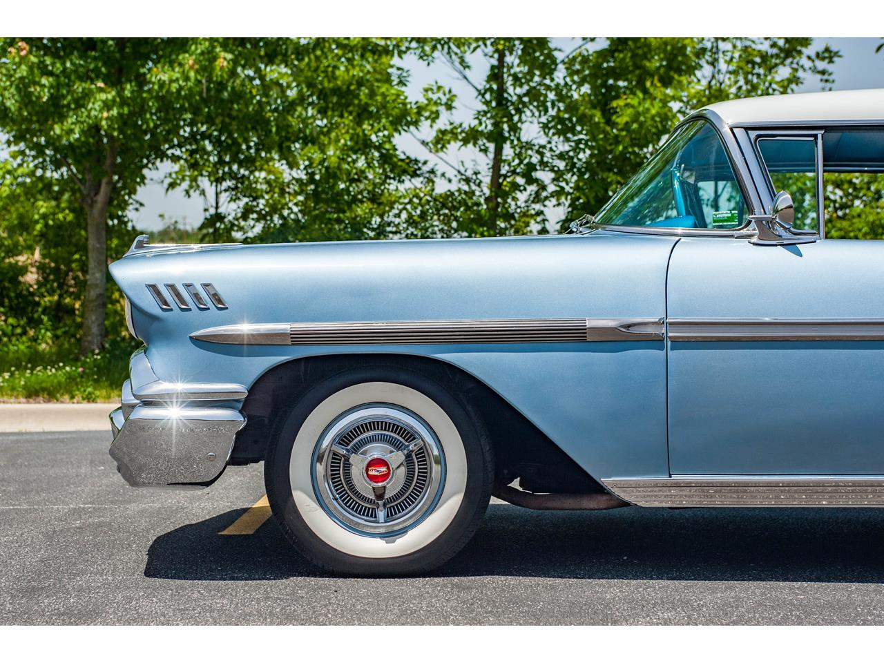 Large Picture of '58 Chevrolet Impala located in Illinois Offered by Gateway Classic Cars - St. Louis - QB9Q