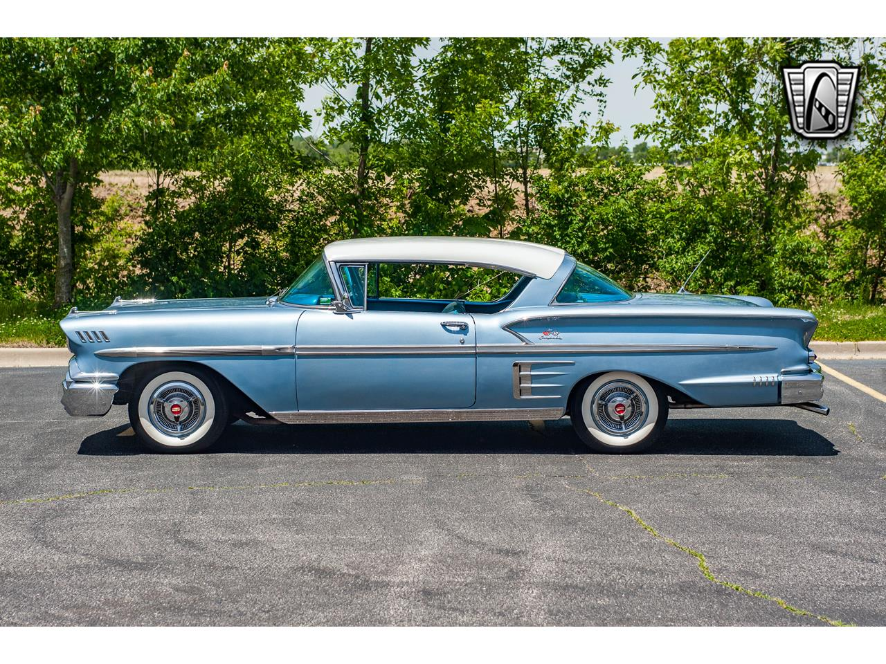 Large Picture of Classic 1958 Chevrolet Impala located in Illinois Offered by Gateway Classic Cars - St. Louis - QB9Q