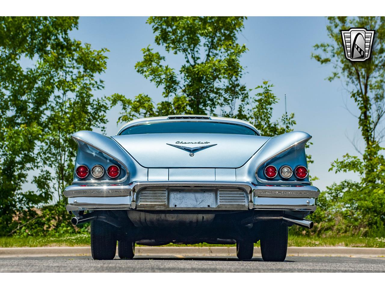 Large Picture of '58 Chevrolet Impala located in Illinois - $62,000.00 Offered by Gateway Classic Cars - St. Louis - QB9Q