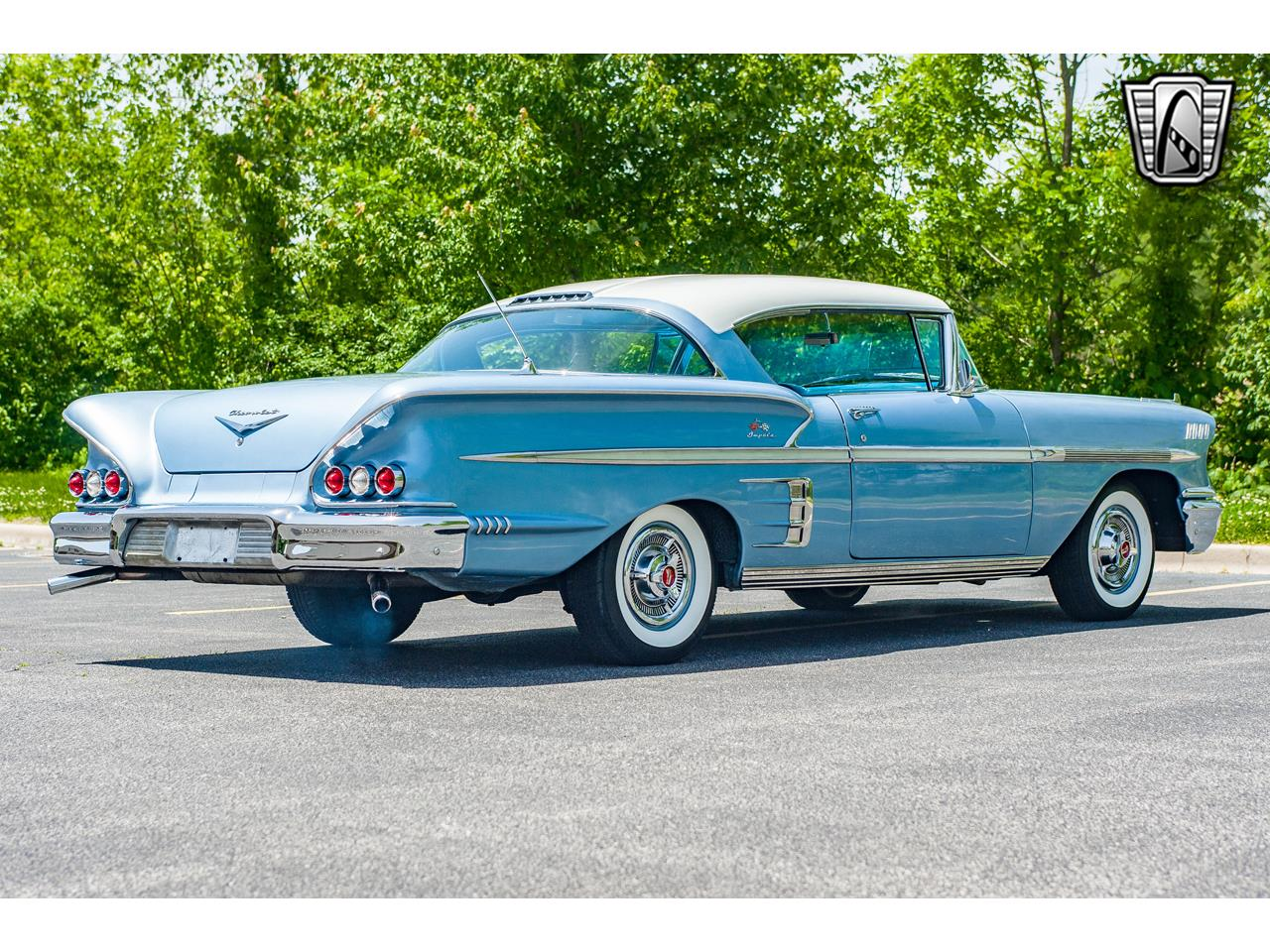 Large Picture of Classic '58 Impala located in O'Fallon Illinois - $62,000.00 Offered by Gateway Classic Cars - St. Louis - QB9Q