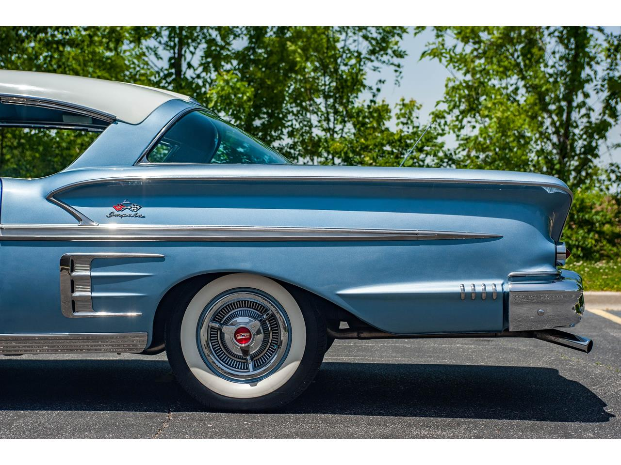 Large Picture of 1958 Chevrolet Impala located in O'Fallon Illinois Offered by Gateway Classic Cars - St. Louis - QB9Q