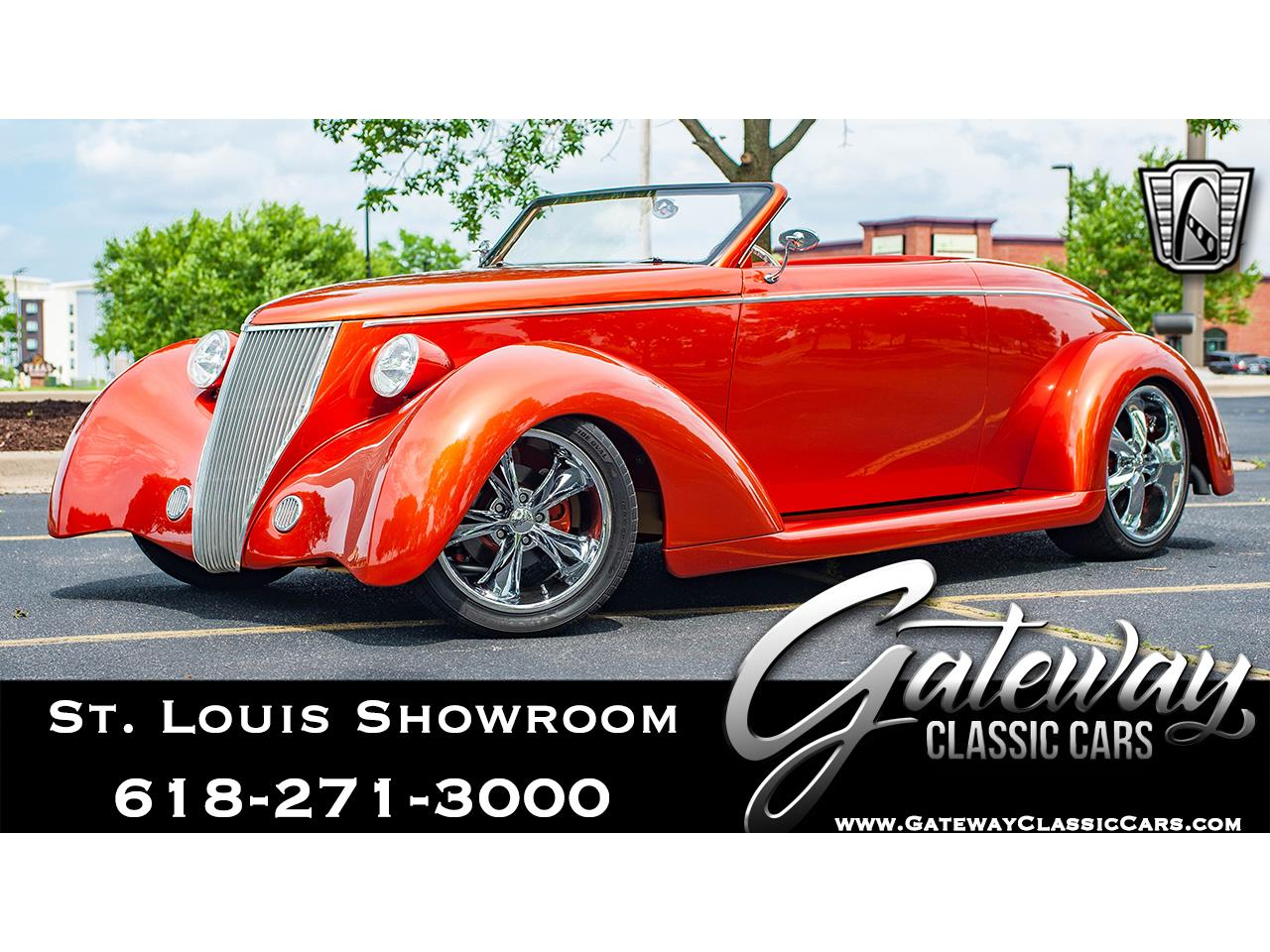 Large Picture of Classic 1936 Ford Roadster located in O'Fallon Illinois - $117,000.00 Offered by Gateway Classic Cars - St. Louis - QB9T