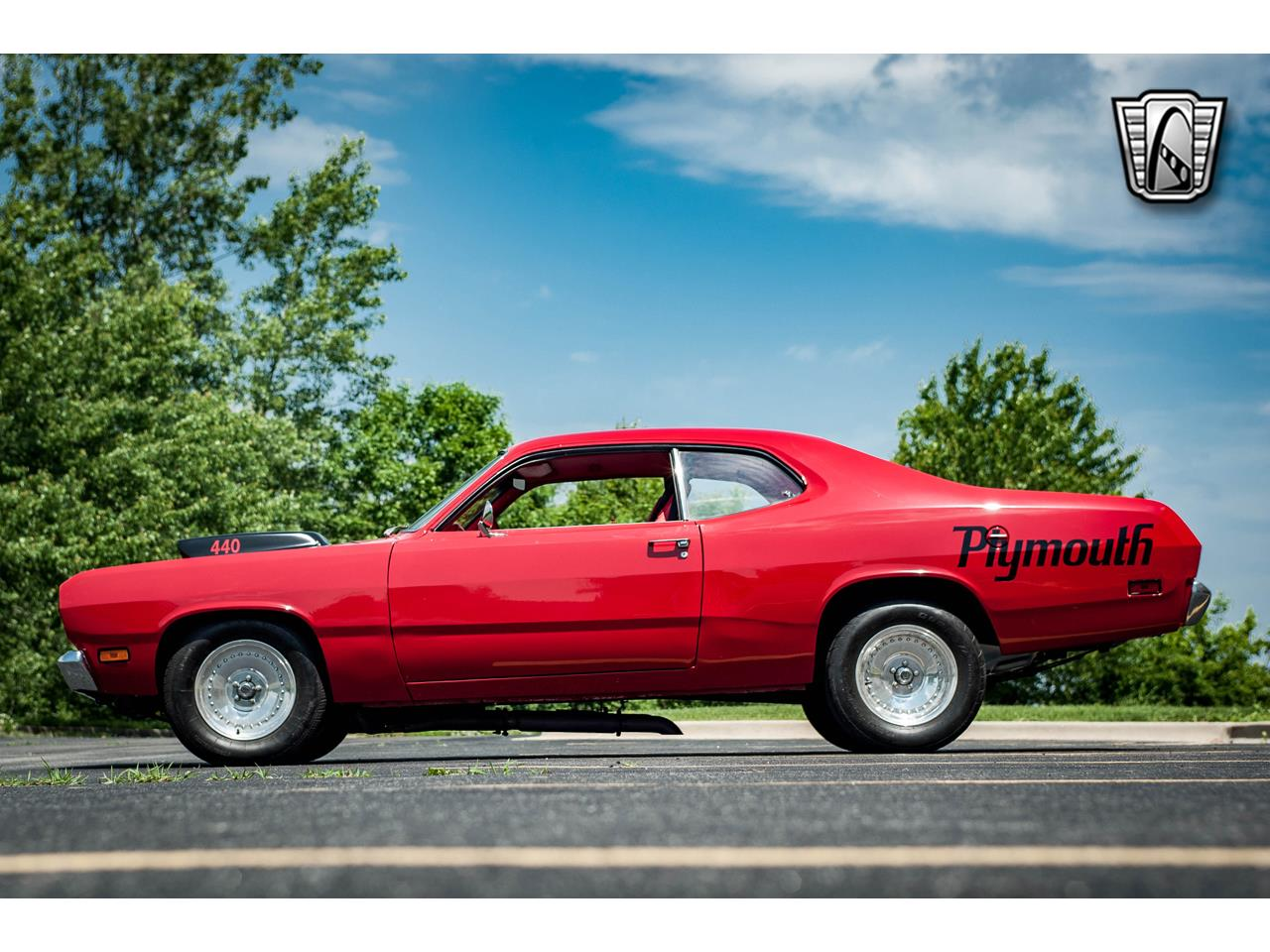 Large Picture of 1971 Duster located in O'Fallon Illinois - $30,000.00 Offered by Gateway Classic Cars - St. Louis - QB9U