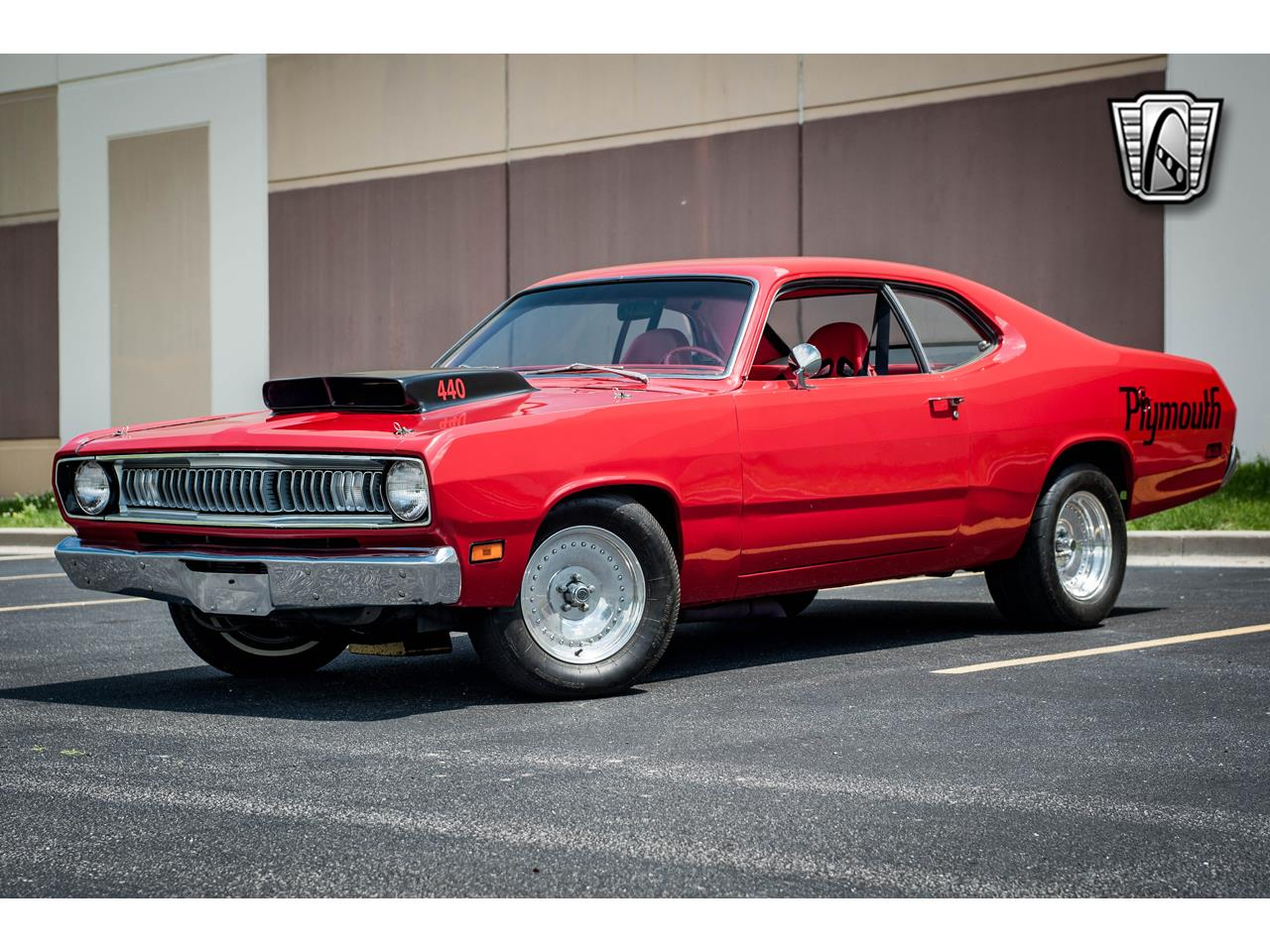 Large Picture of Classic 1971 Plymouth Duster located in Illinois Offered by Gateway Classic Cars - St. Louis - QB9U
