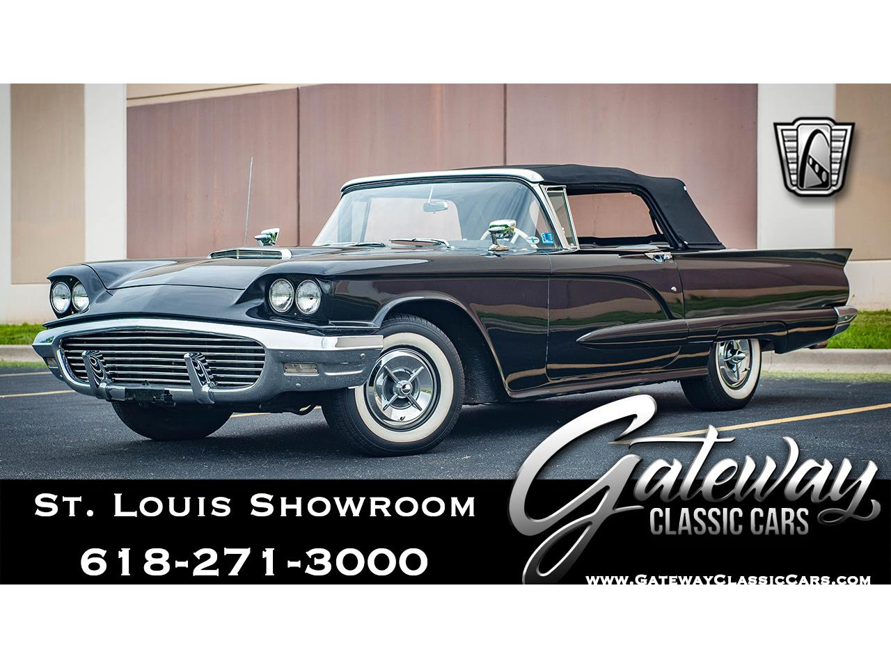 Large Picture of 1960 Ford Thunderbird located in O'Fallon Illinois Offered by Gateway Classic Cars - St. Louis - QB9W