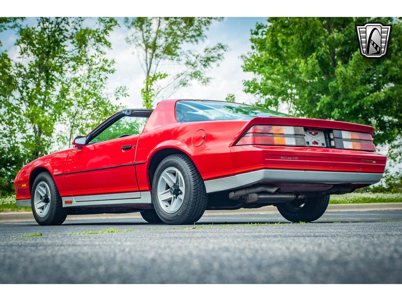 Large Picture of '84 Chevrolet Camaro - $9,500.00 - QB9Y