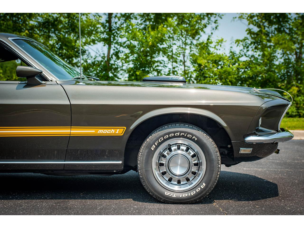 Large Picture of Classic '69 Ford Mustang located in O'Fallon Illinois - QBA2