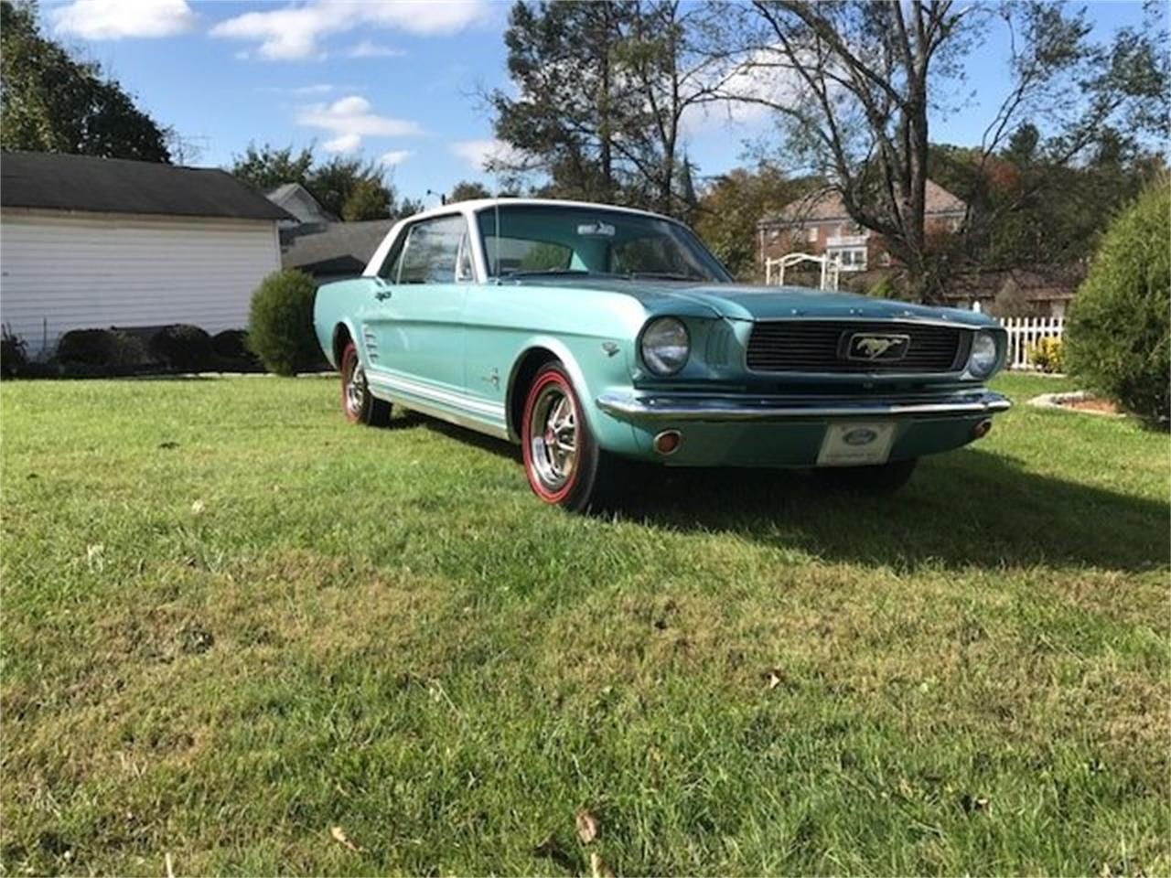 Large Picture of '66 Mustang - QBBT