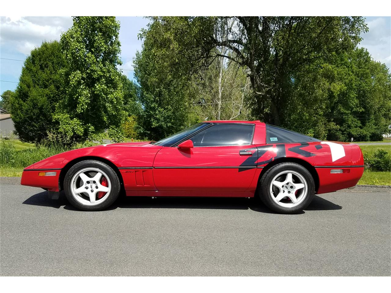 Large Picture of '90 Corvette located in Connecticut Auction Vehicle Offered by Barrett-Jackson - QBC3