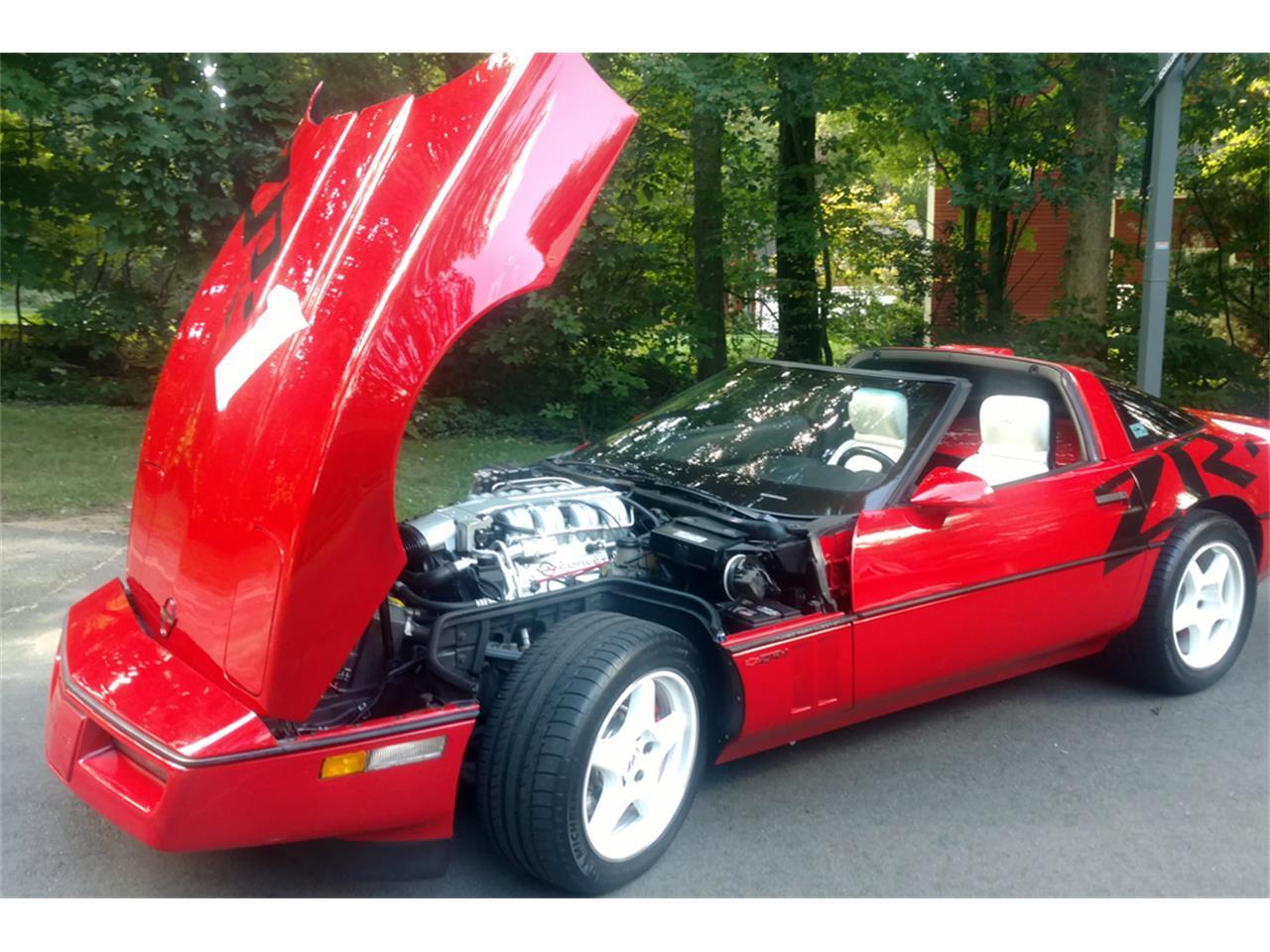 Large Picture of 1990 Corvette located in Connecticut Auction Vehicle - QBC3