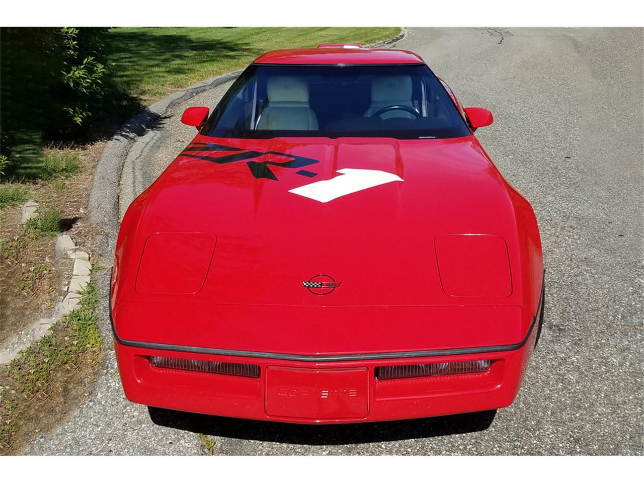 Large Picture of '90 Chevrolet Corvette Auction Vehicle - QBC3