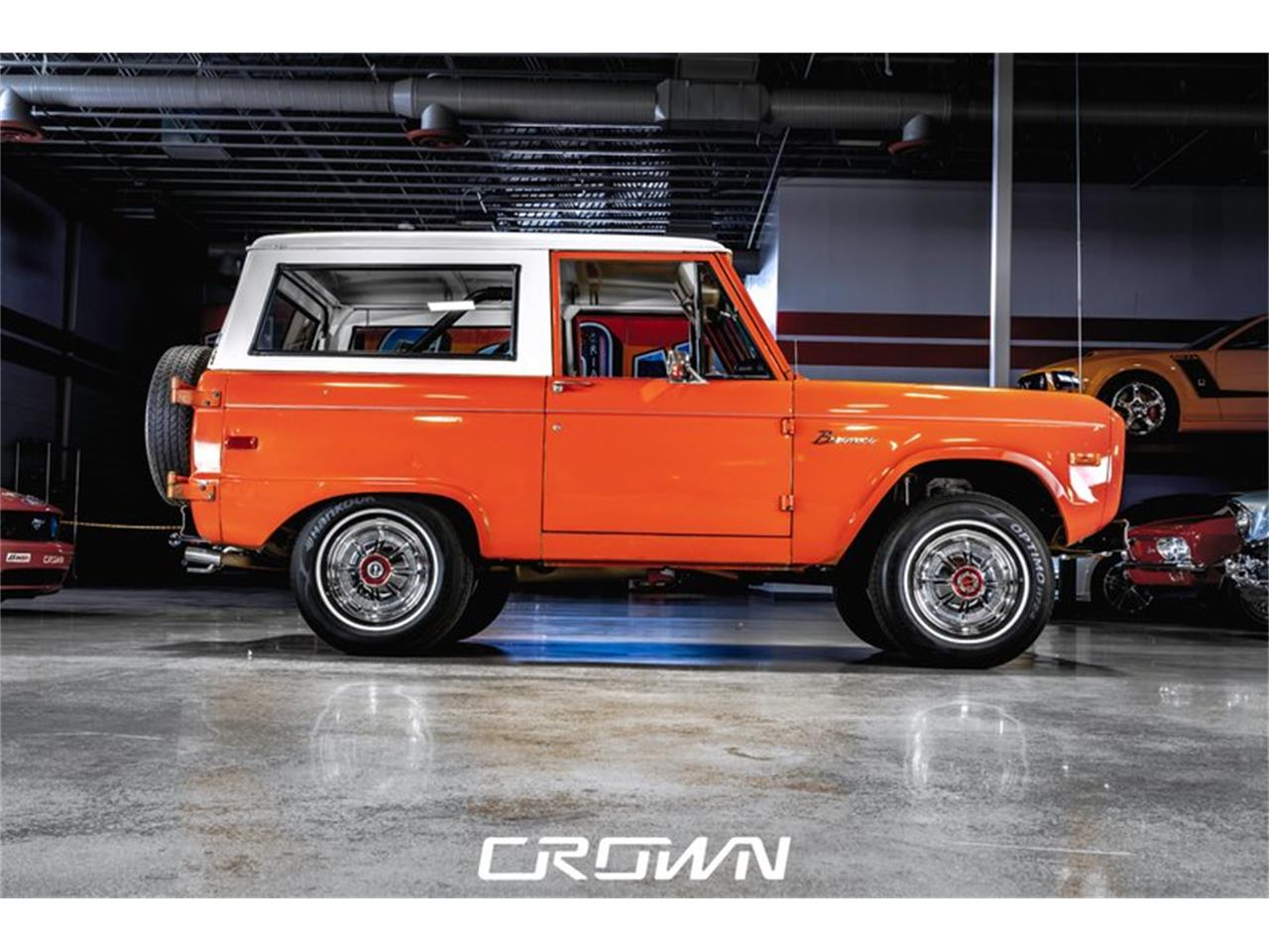 Large Picture of '72 Bronco - QBH9