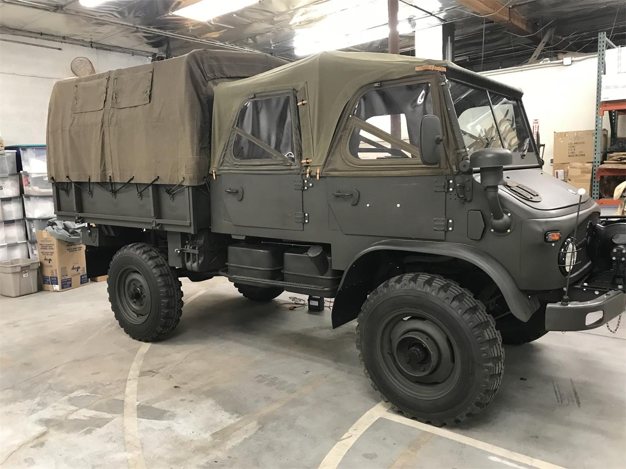For Sale: 1963 Mercedes-Benz Unimog in Scottsdale, Arizona