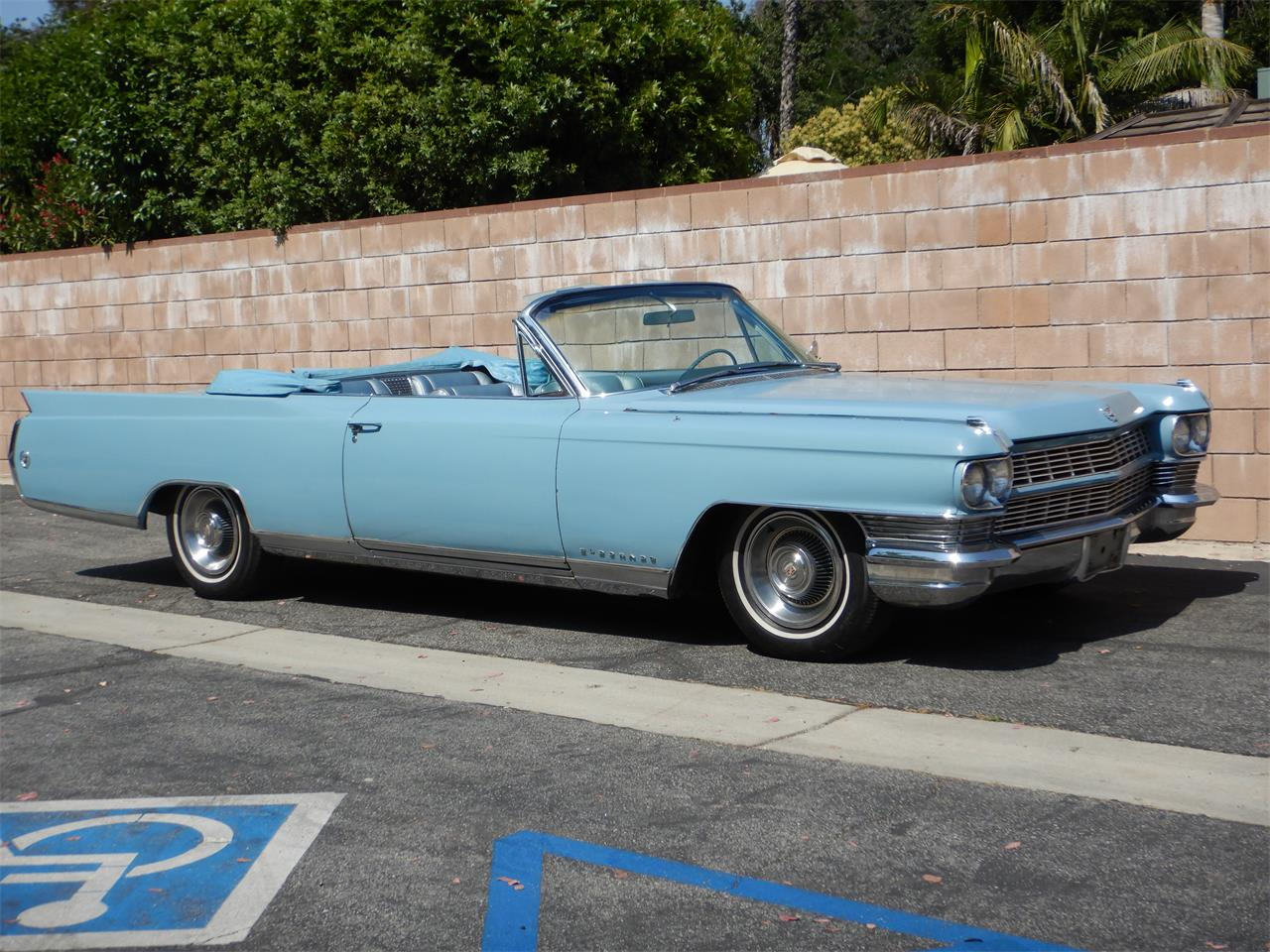 Large Picture of Classic '64 Eldorado Biarritz located in Woodland Hills California - $28,500.00 Offered by California Cadillac And Collectibles - QBJQ