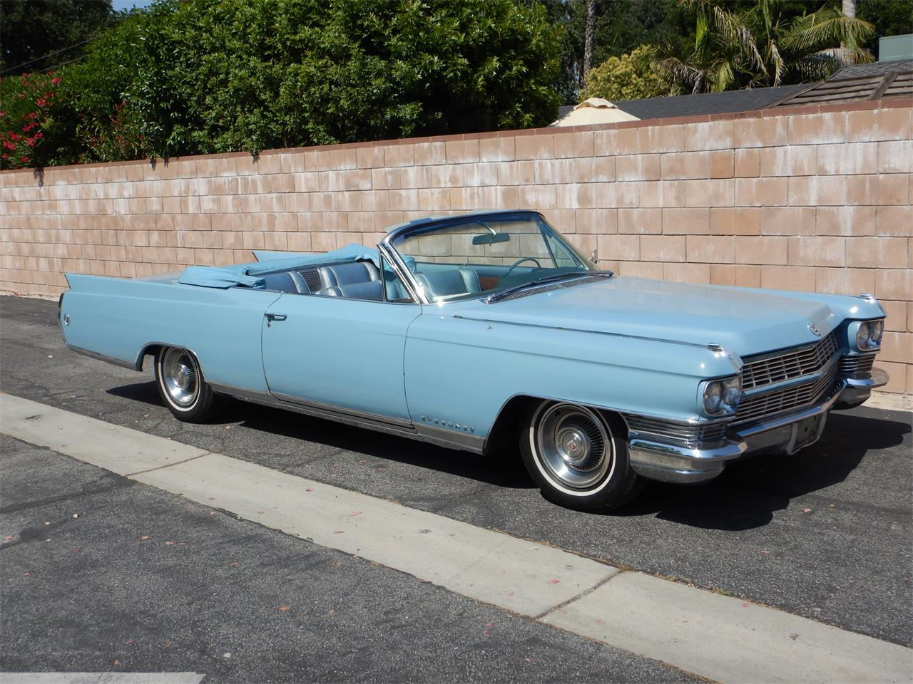 Large Picture of Classic 1964 Cadillac Eldorado Biarritz located in Woodland Hills California Offered by California Cadillac And Collectibles - QBJQ