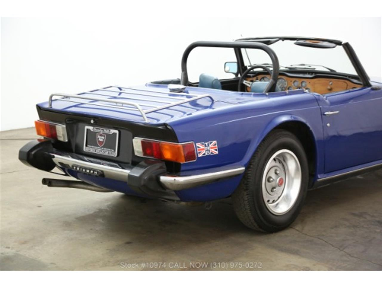 Large Picture of '74 TR6 - QBLN