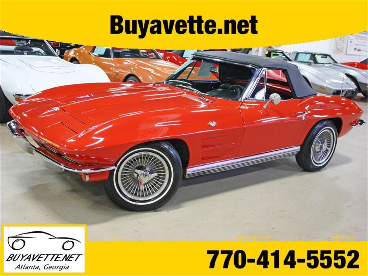 Large Picture of Classic '64 Chevrolet Corvette located in Atlanta Georgia - $57,999.00 Offered by Buyavette - Q5ZM