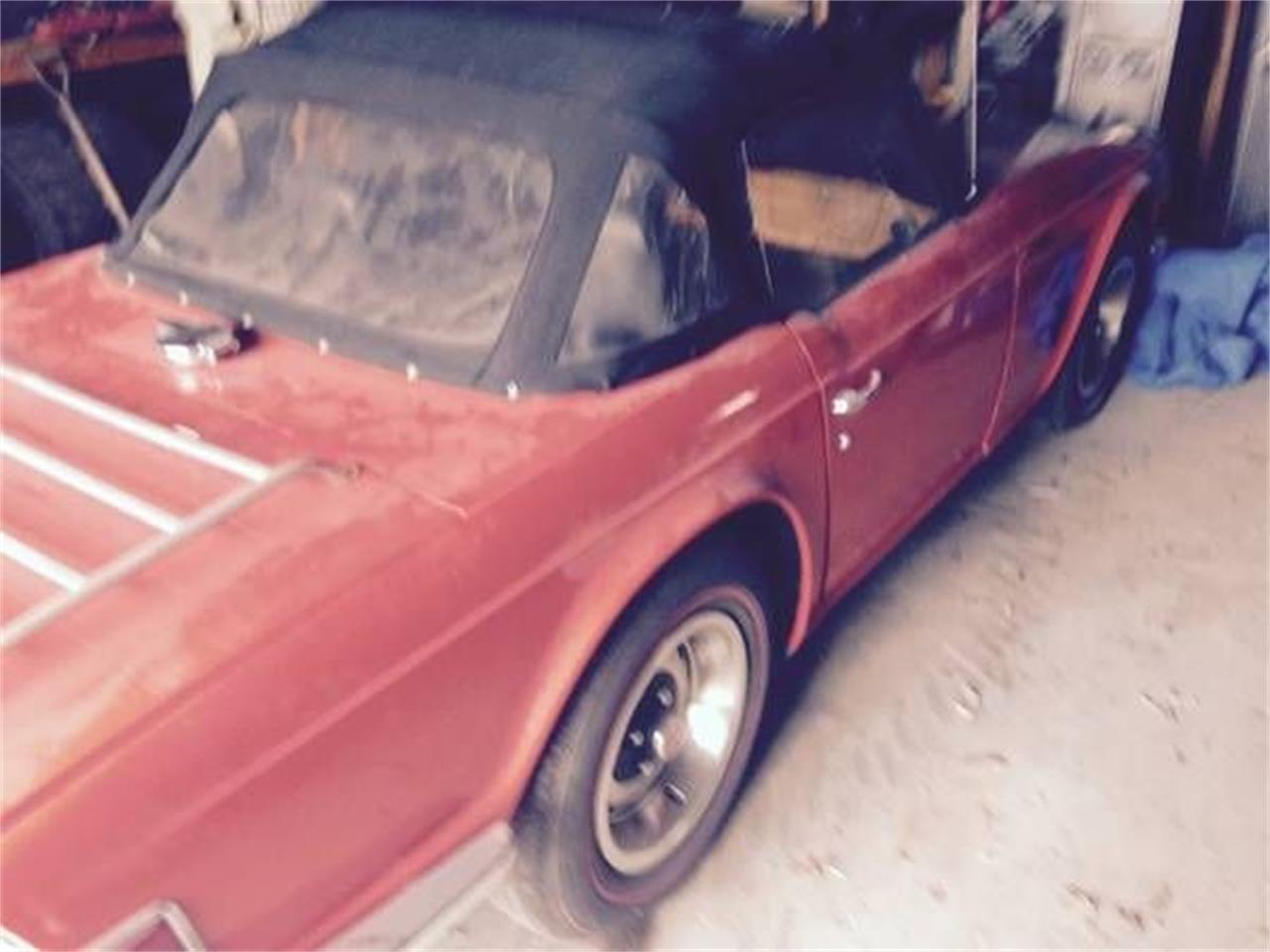 Large Picture of '72 TR6 - QBPW