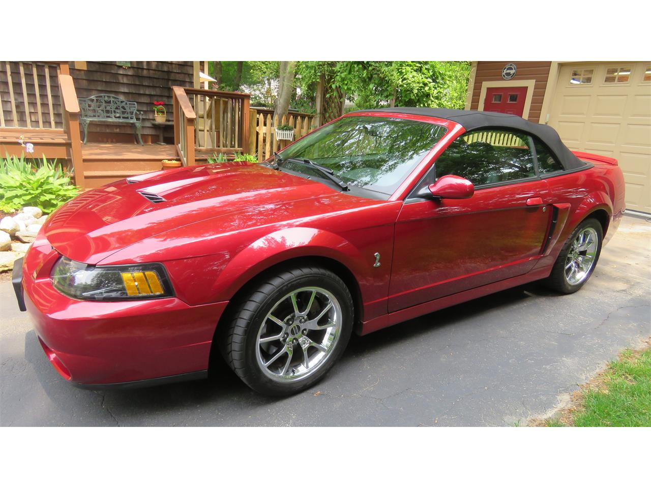 Large Picture of '04 Mustang SVT Cobra located in Hanson Massachusetts Offered by a Private Seller - QBSO