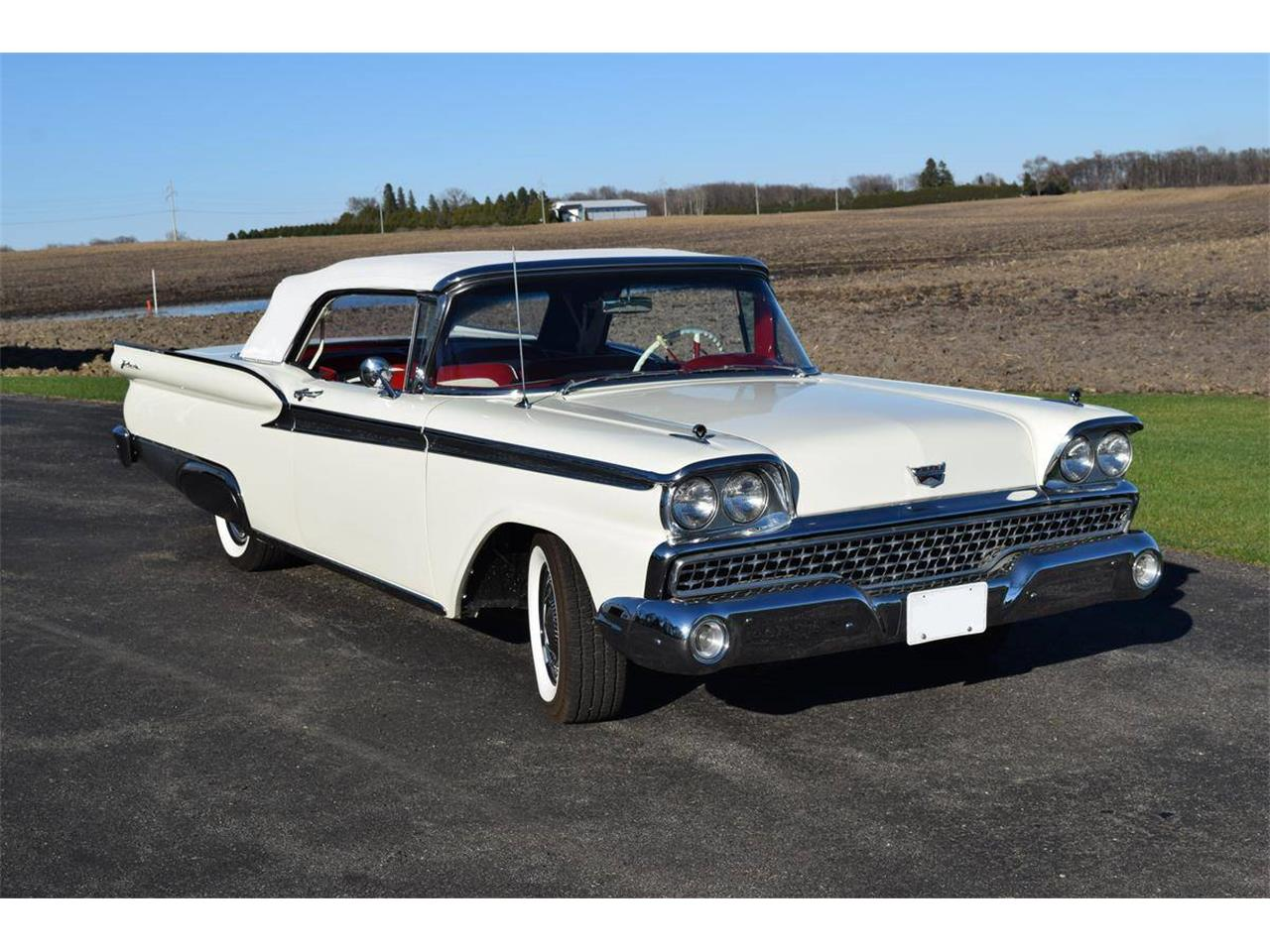 Large Picture of '59 Ford Galaxie located in Minnesota Offered by Twin Cities Classic Car Auction - QBU4