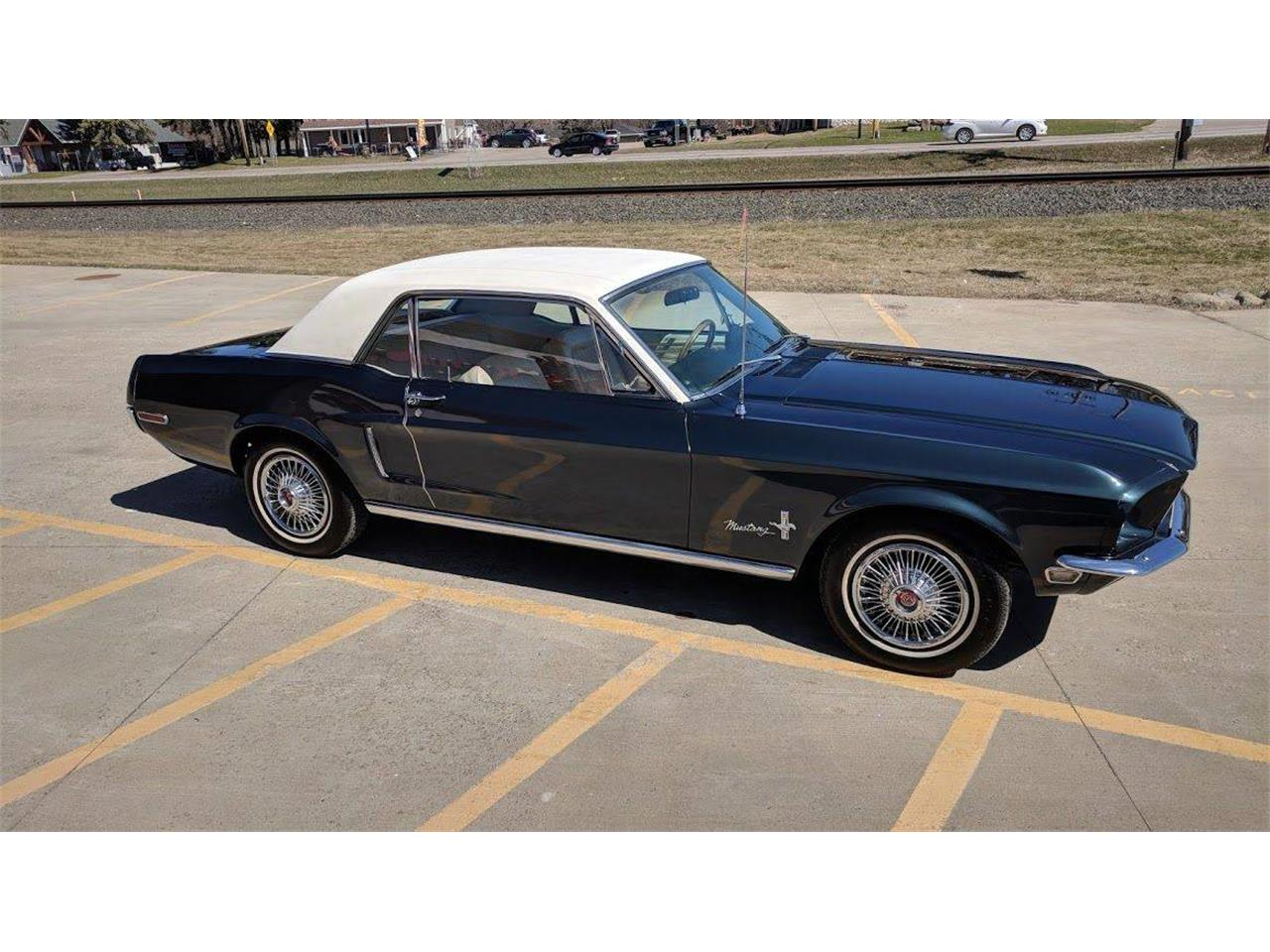 Large Picture of Classic 1968 Mustang located in Minnesota Offered by Twin Cities Classic Car Auction - QBV0
