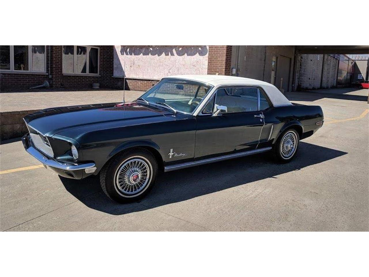 Large Picture of 1968 Ford Mustang - QBV0
