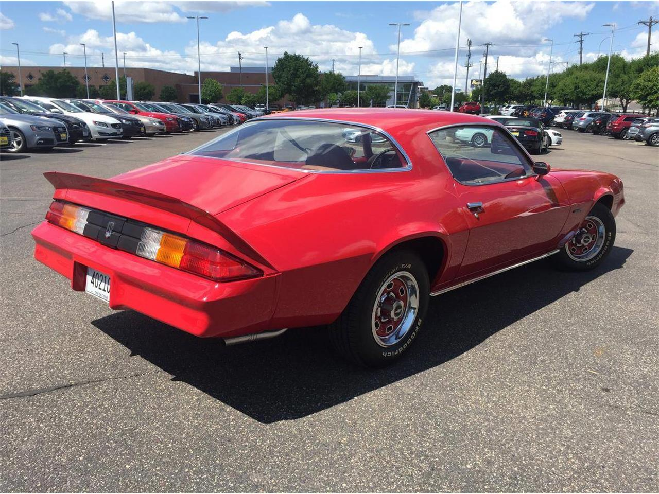 Large Picture of 1978 Chevrolet Camaro located in Roseville Minnesota Auction Vehicle - QBVU