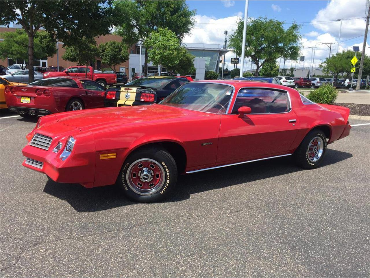 Large Picture of '78 Chevrolet Camaro located in Minnesota Auction Vehicle Offered by Twin Cities Classic Car Auction - QBVU