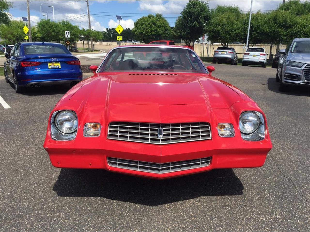 Large Picture of 1978 Camaro located in Roseville Minnesota Auction Vehicle - QBVU