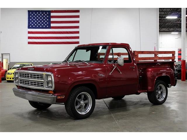Classic Dodge D100 for Sale on ClassicCars com on