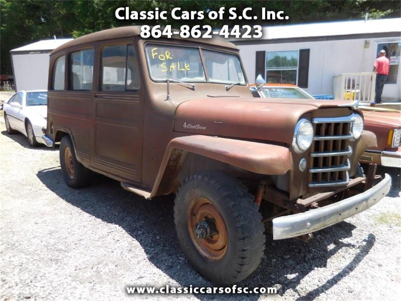 Large Picture of '51 Jeep Wagon - QC04