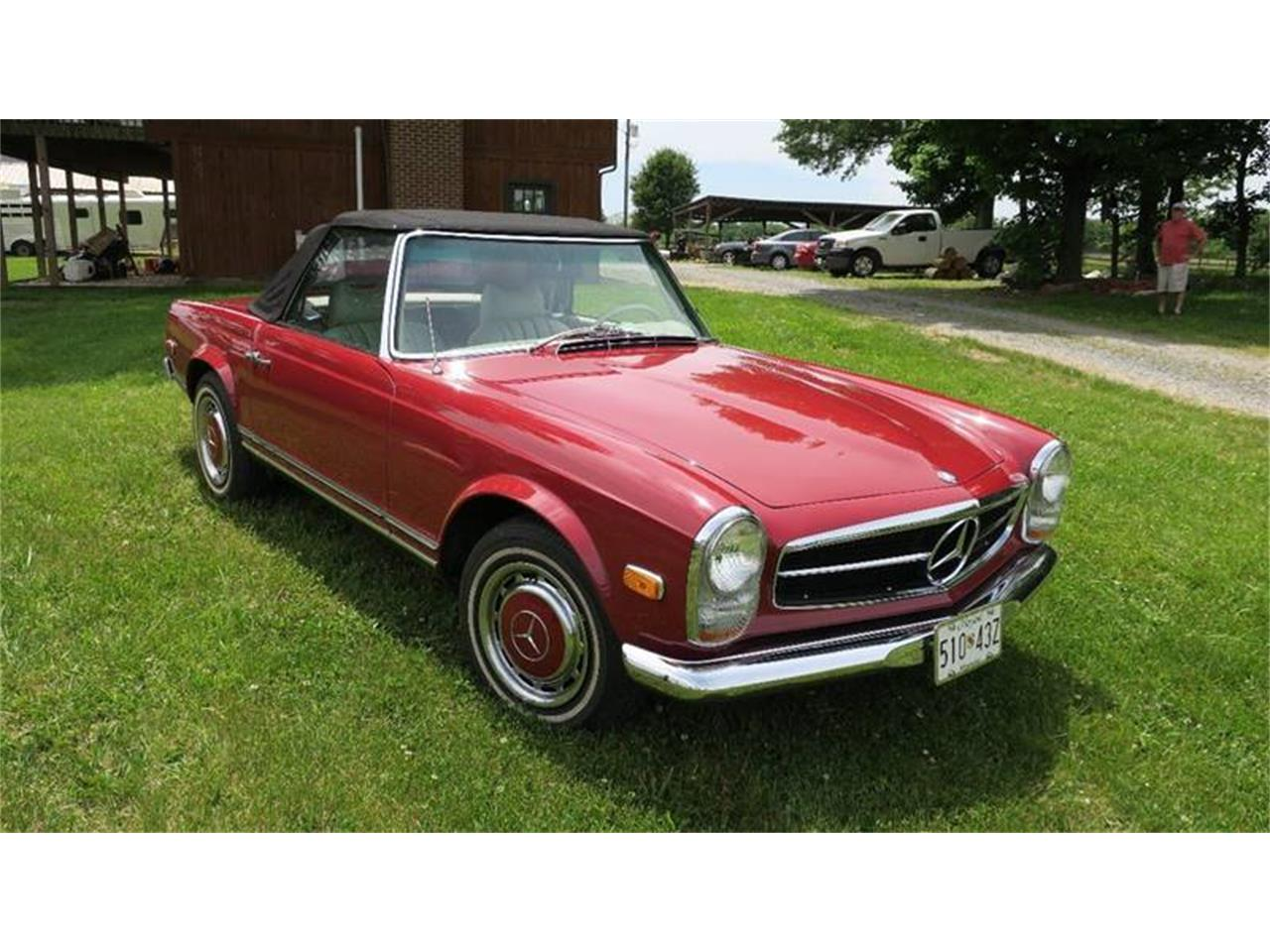 Large Picture of '69 SL-Class located in Clarksburg Maryland Offered by Eric's Muscle Cars - Q614
