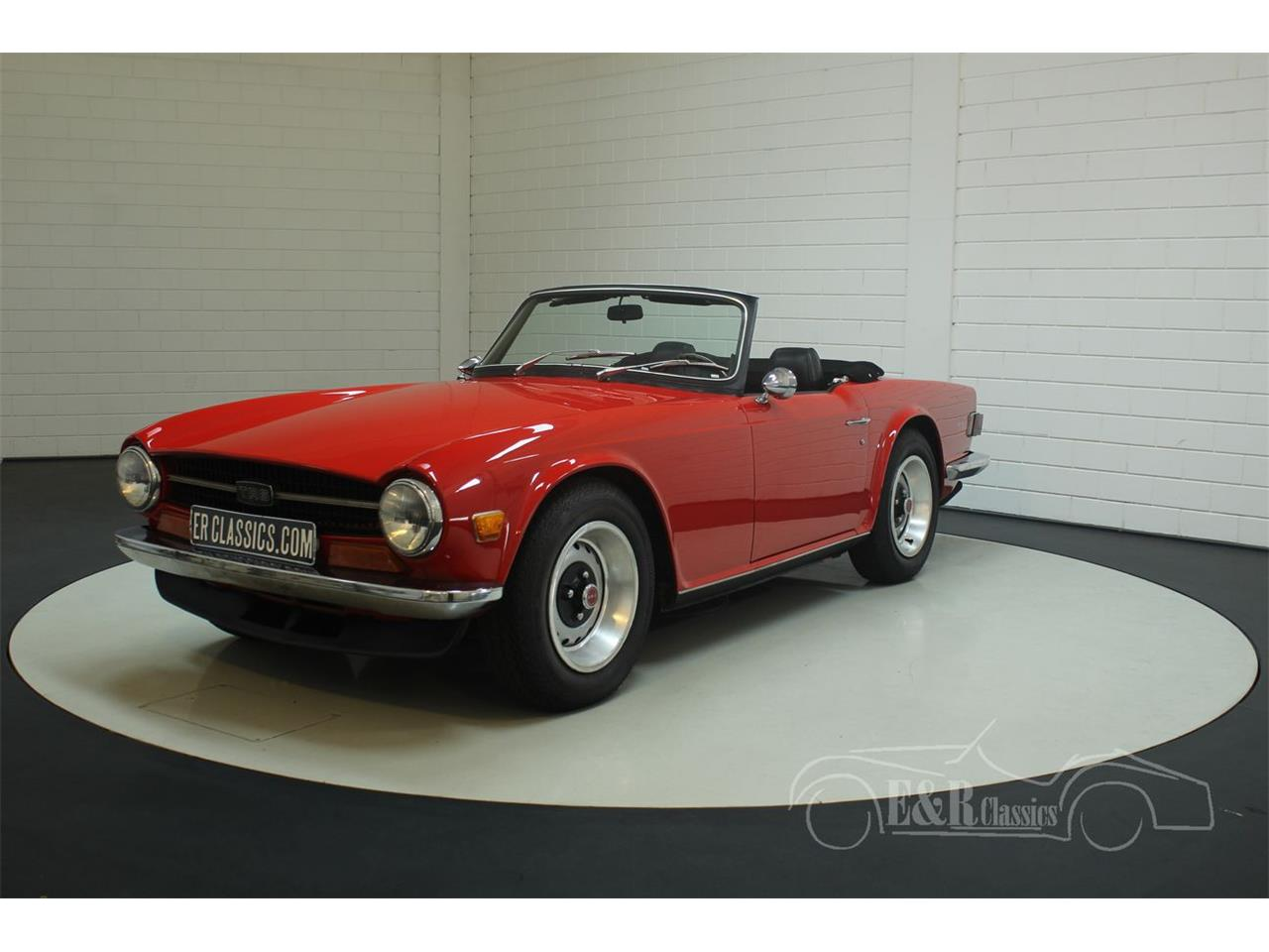 Large Picture of '71 TR6 - QC3Z