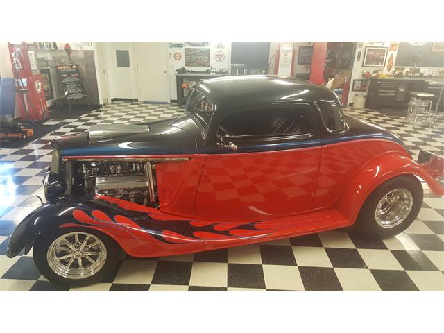 Picture of 1934 Ford 3-Window Coupe located in California - $58,500.00 - QC5X