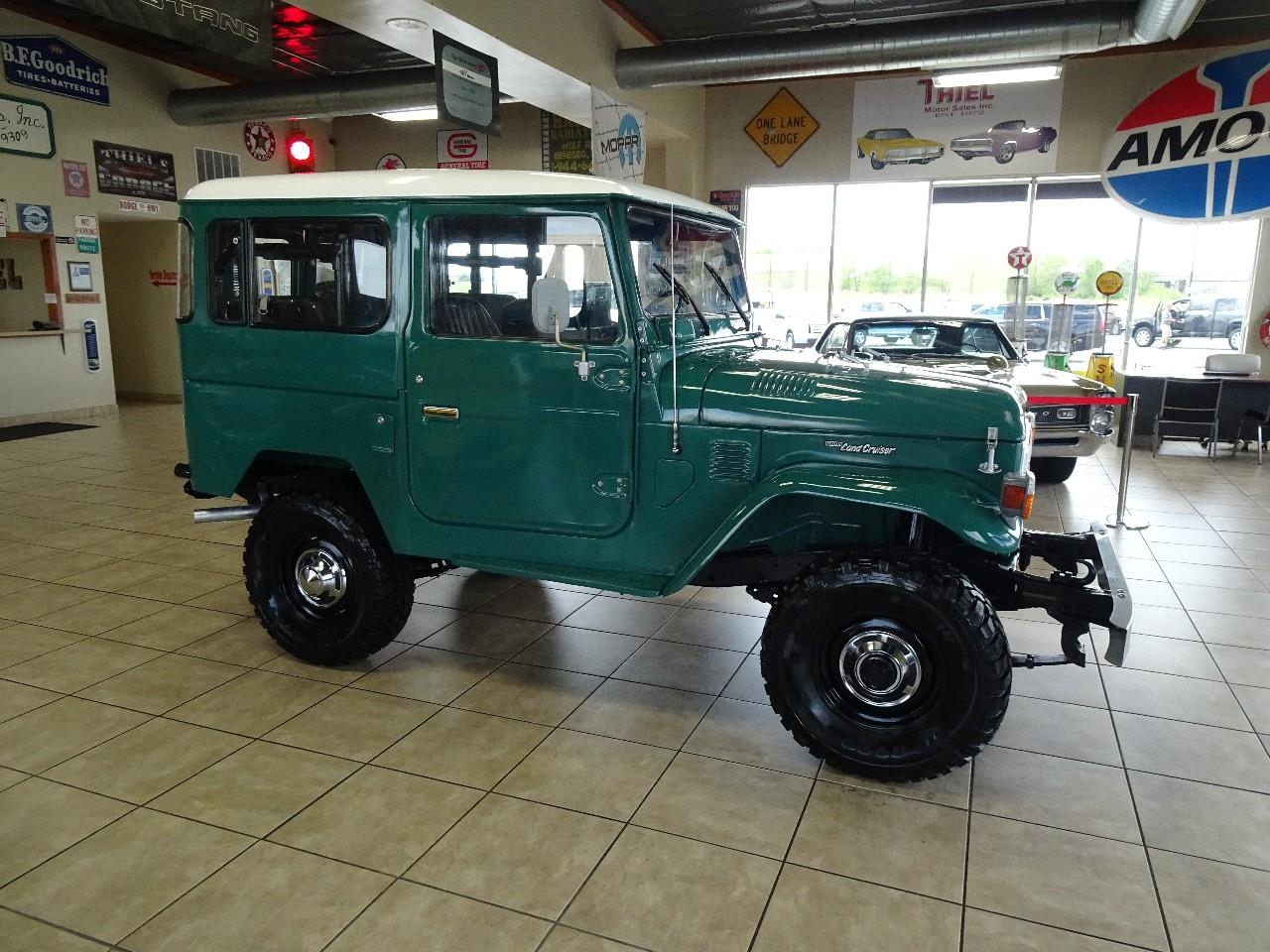 Large Picture of '78 Toyota Land Cruiser FJ40 located in De Witt Iowa - $29,997.00 Offered by Thiel Motor Sales Inc. - QCAV