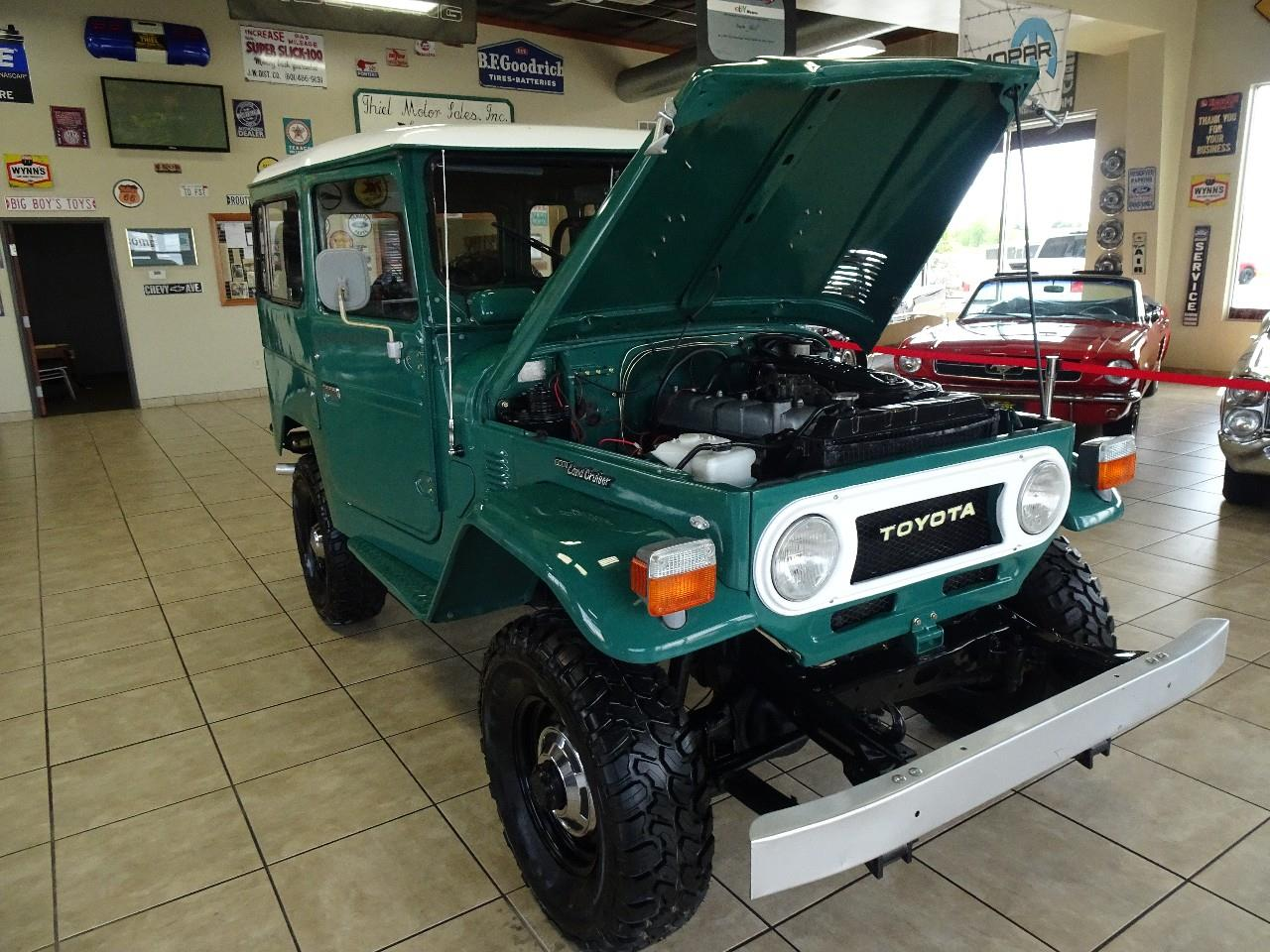 Large Picture of '78 Toyota Land Cruiser FJ40 located in Iowa - $29,997.00 - QCAV