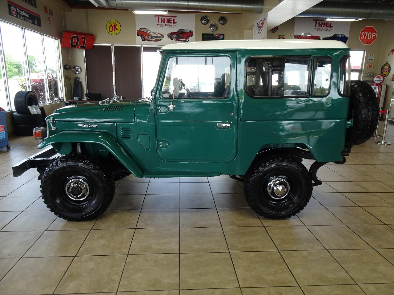 Large Picture of 1978 Land Cruiser FJ40 located in Iowa - QCAV
