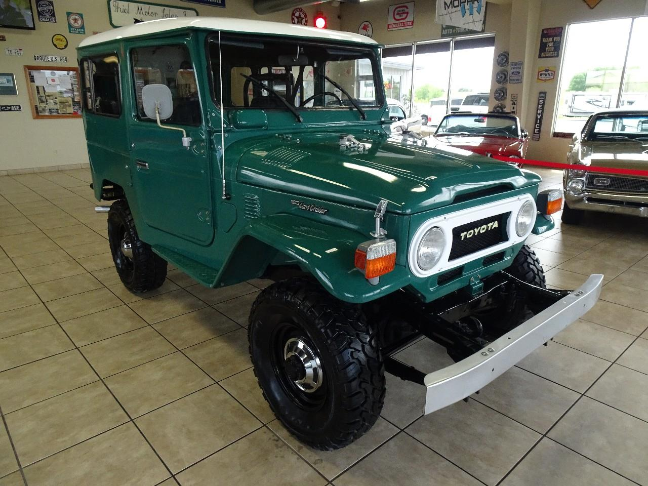 Large Picture of '78 Land Cruiser FJ40 located in De Witt Iowa Offered by Thiel Motor Sales Inc. - QCAV