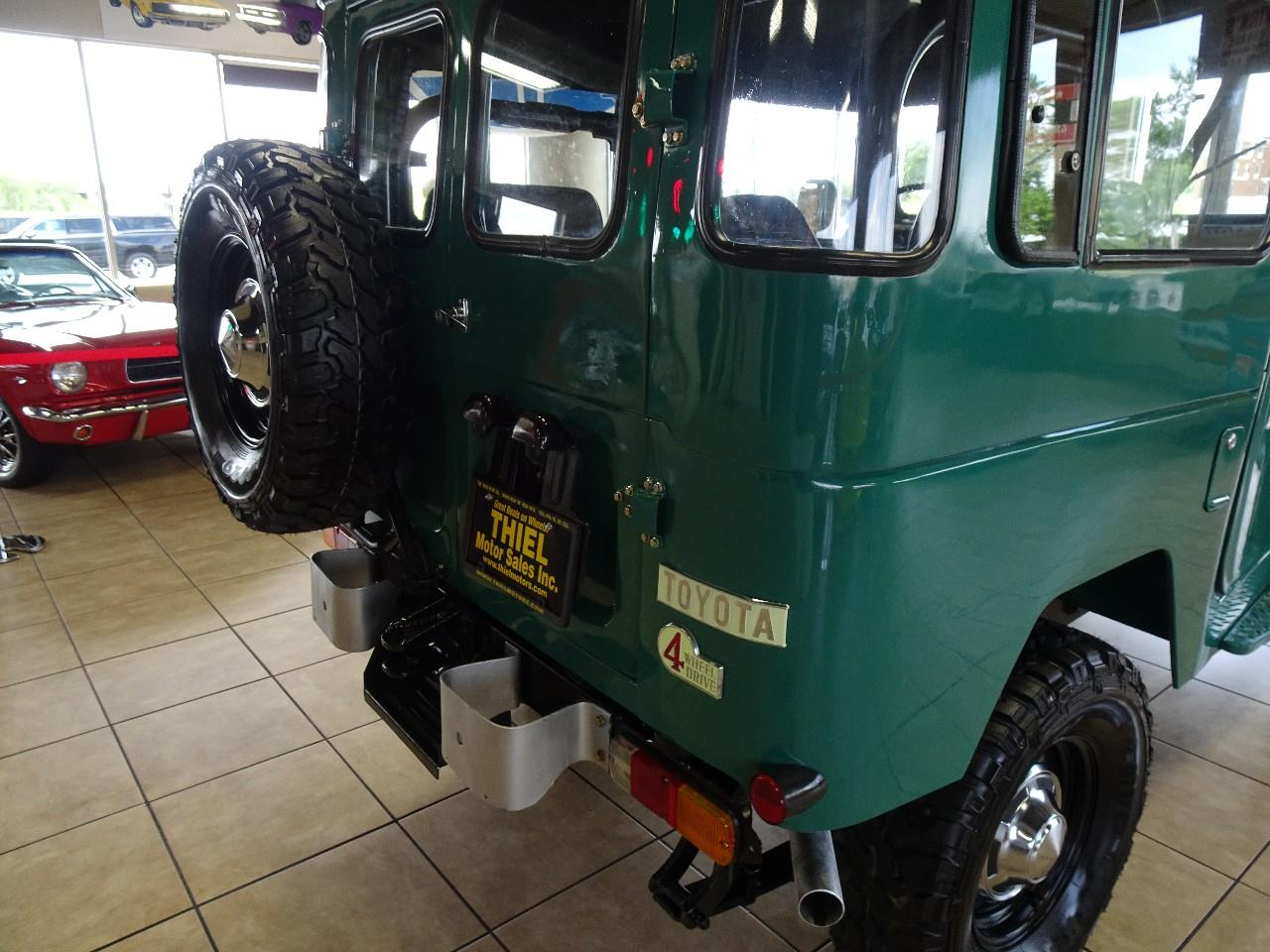 Large Picture of '78 Toyota Land Cruiser FJ40 located in Iowa - $29,997.00 Offered by Thiel Motor Sales Inc. - QCAV